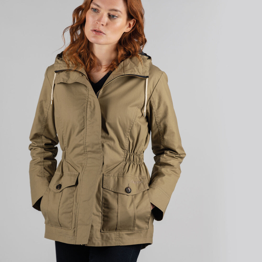Schoffel Women's Brooke Jacket in Camel