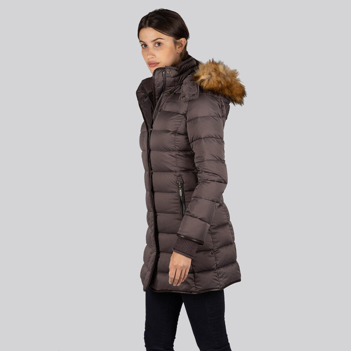 Schoffel Women's Mayfair Down Coat Juniper