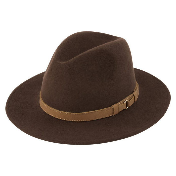 Schoffel Women's Willow Fedora Chocolate
