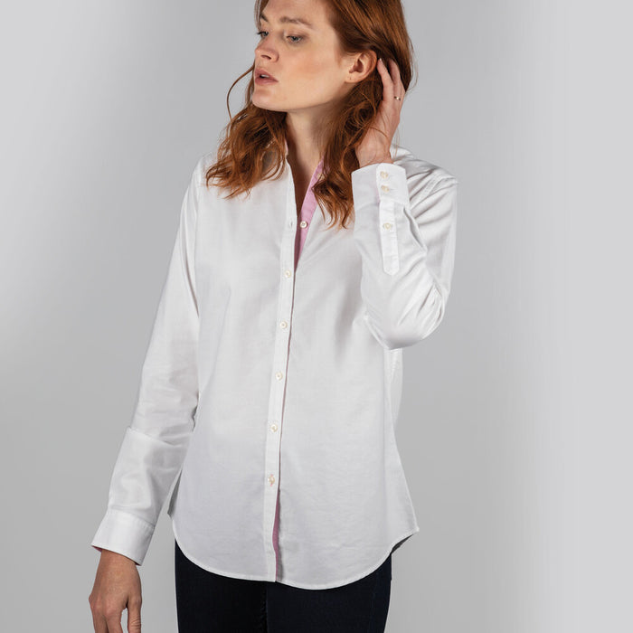 Schoffel Women's Soft Oxford Shirt White