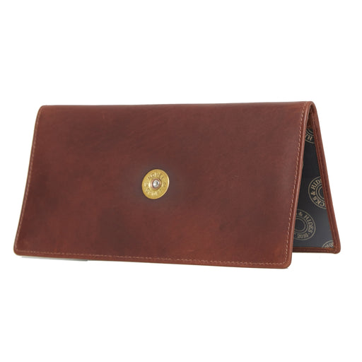 Hicks & Hide Shotgun Holder Cognac Leather - RedMillsStore.ie