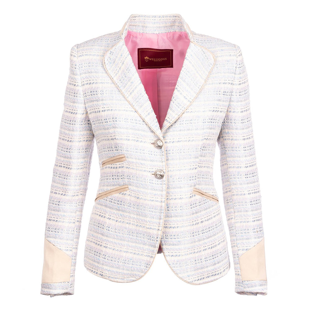 WG Women's Venice Fitted Jacket in Pale Blue