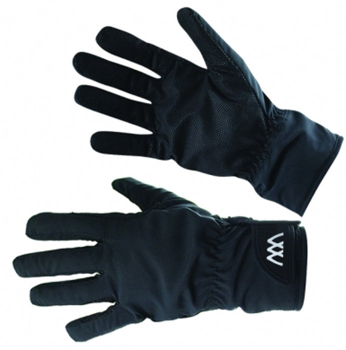 Woof Wear Waterproof Riding Gloves in Black