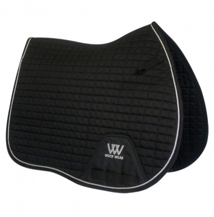 Woof Wear General Purpose Saddlecloth Colour Fusion in Black