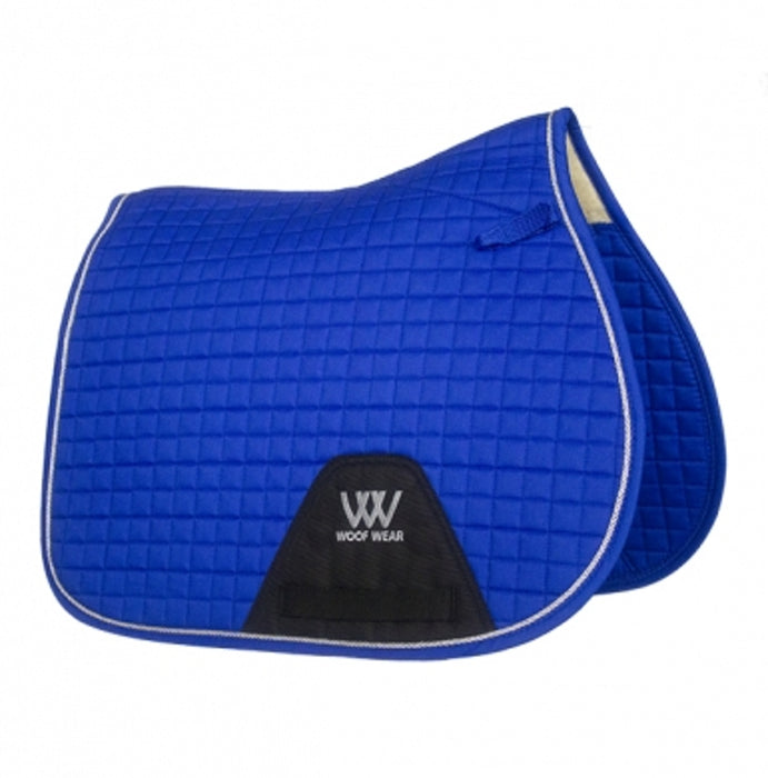 Woof Wear General Purpose Saddlecloth Colour Fusion in Electric Blue
