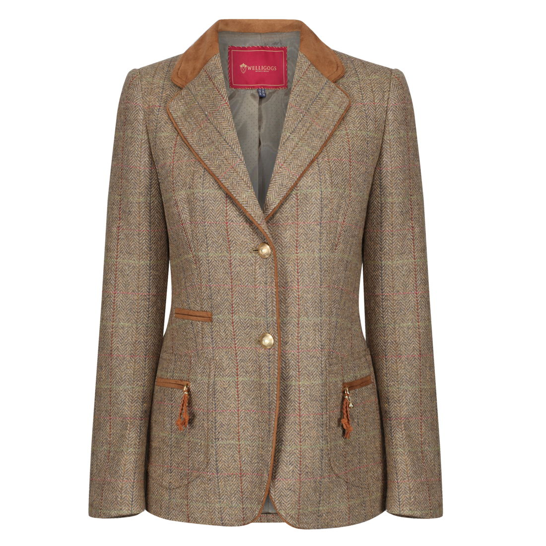 Welligogs Westminster womens tweed jacket