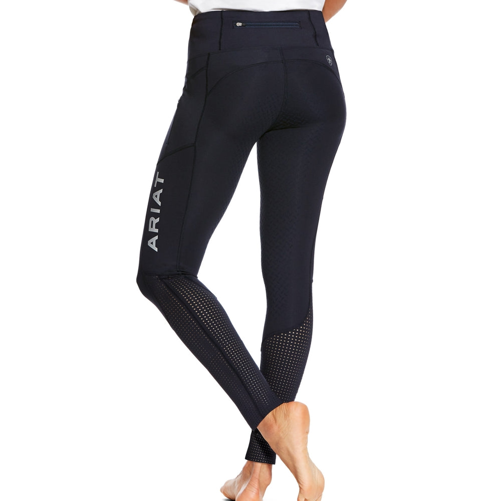 Ariat Womens Eos Full Seat Tights in Navy - RedMillsStore.ie