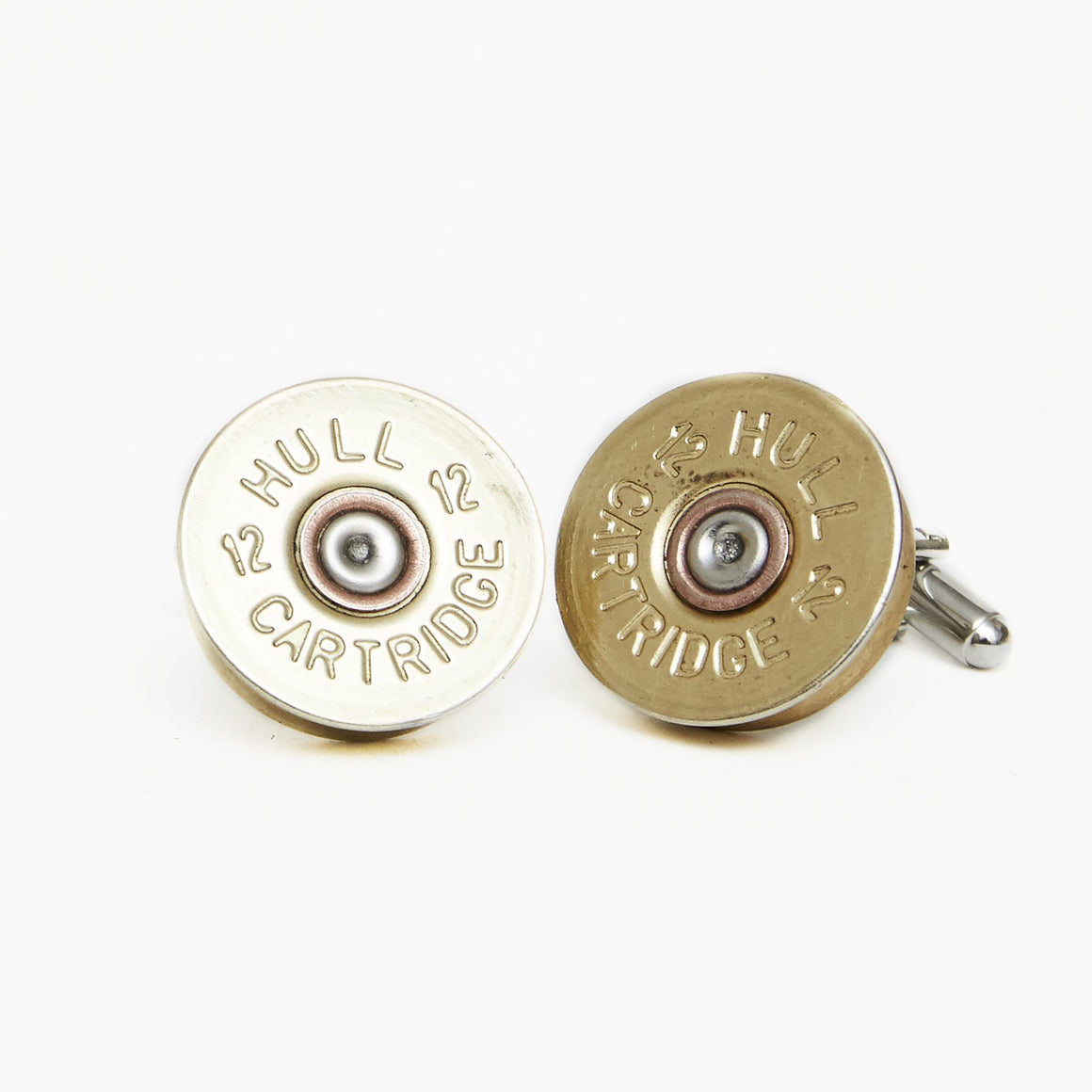 Hicks & Hide 12bore Cufflinks Brass - RedMillsStore.ie