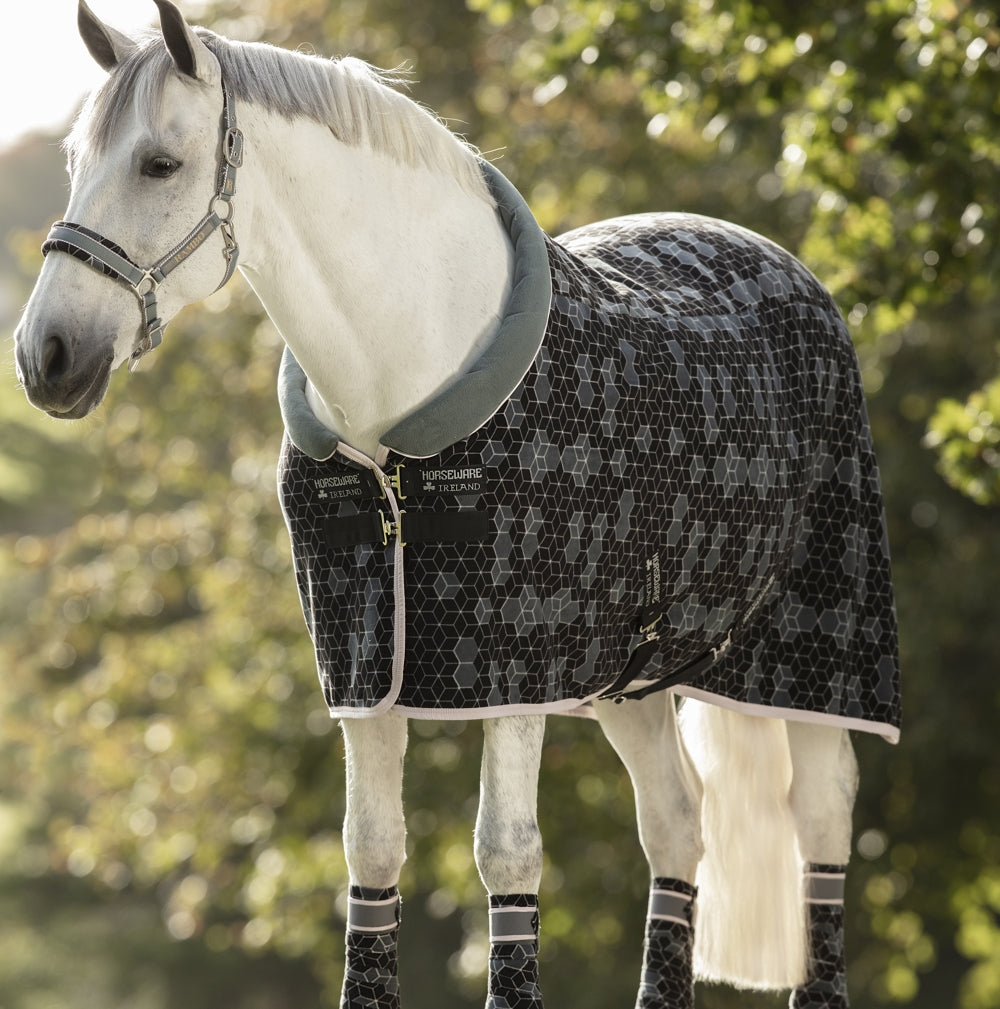 Horseware Fashion Cosy Fleece - Hexagon Print