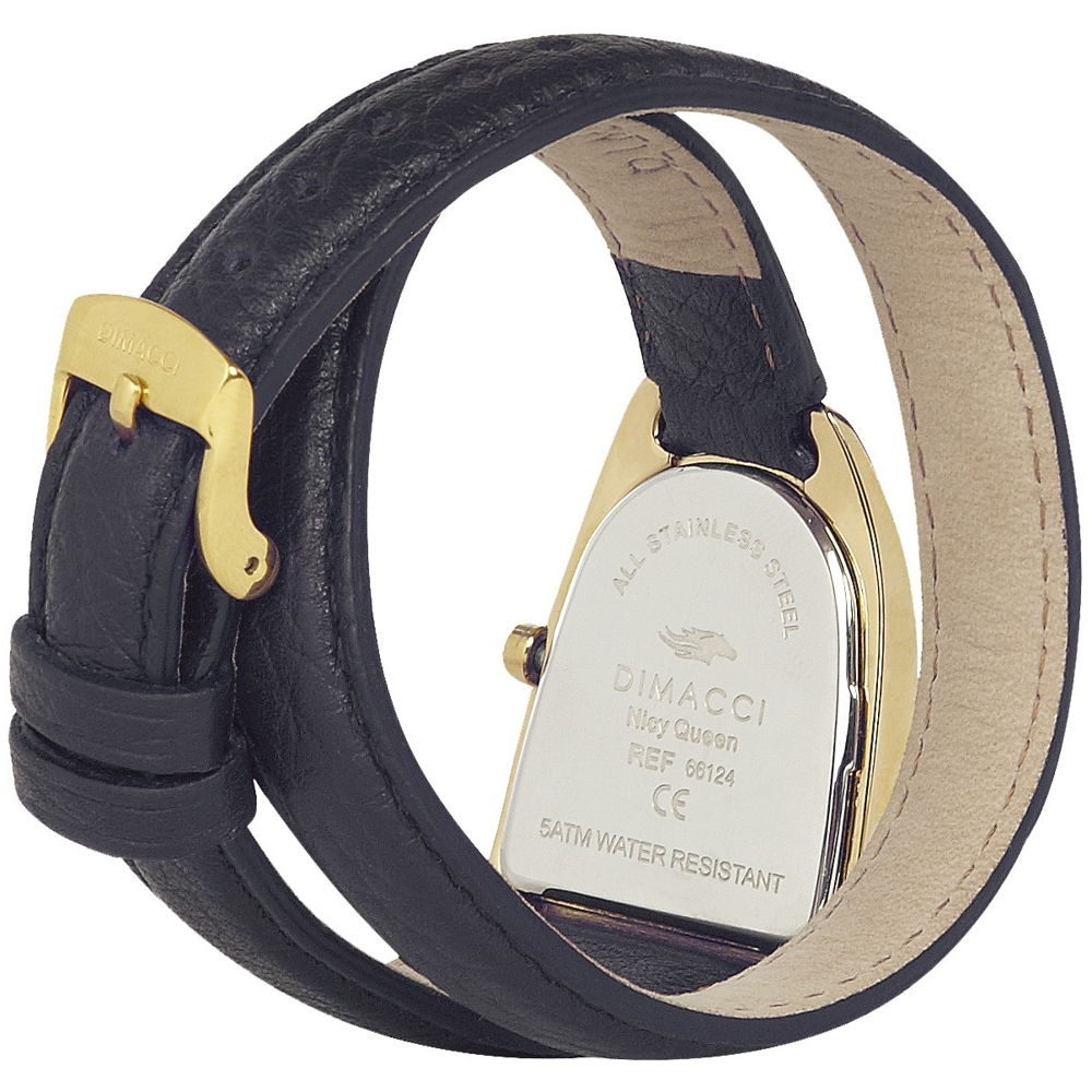 Dimacci Nicy Queen II Watch in black & gold - RedMillsStore.ie