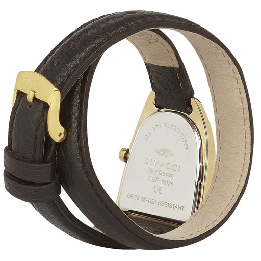 Dimacci Nicy Queen II Watch in mocha & gold - RedMillsStore.ie