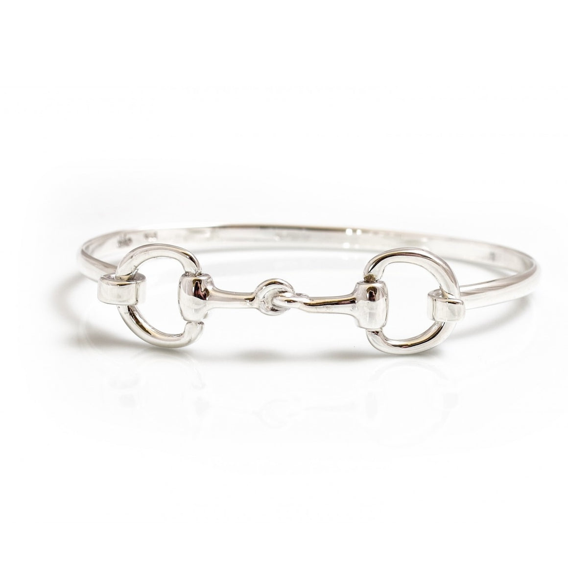 Hiho Silver Sterling Silver Double Snaffle Bracelet
