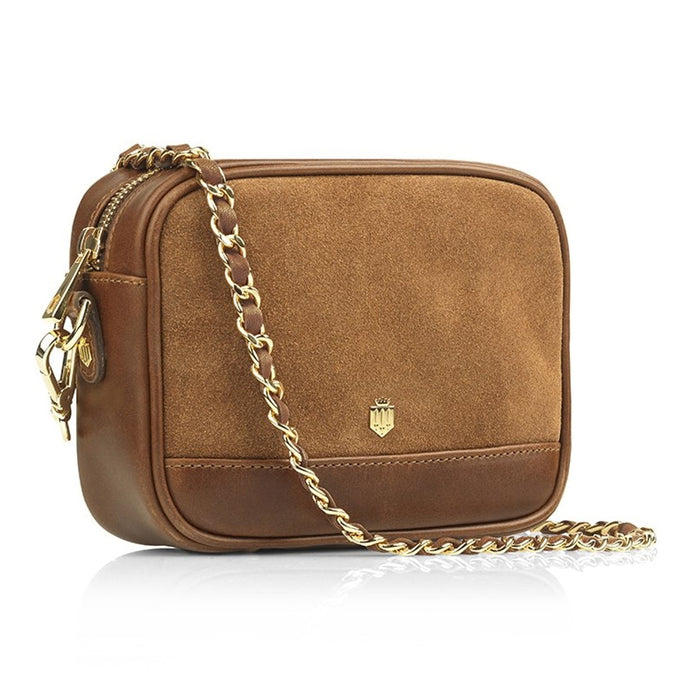 Fairfax & Favor Madison Cross Body Bag in Tan - RedMillsStore.ie