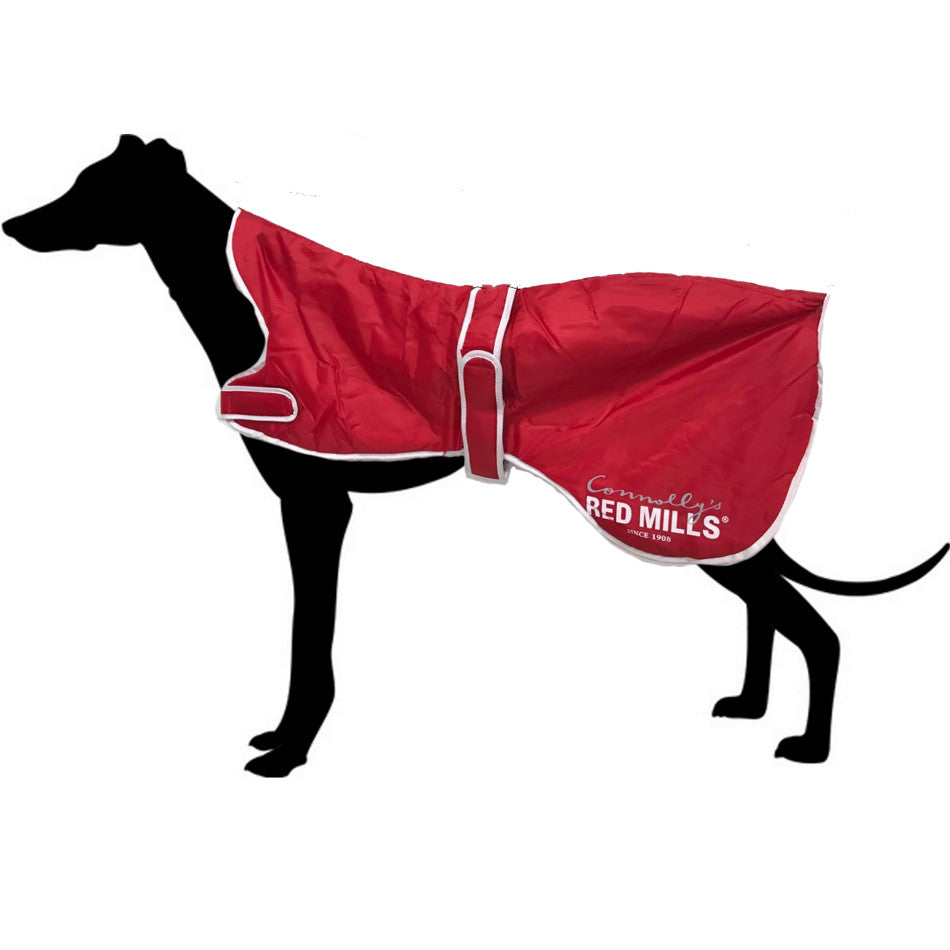 Red Mills Water Resistant Greyhound / Whippet / Lurcher Coat