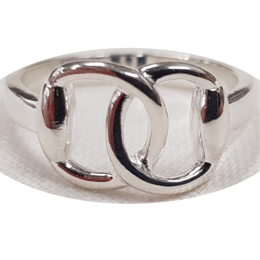 Hiho Silver Sterling Silver Snaffle Ring - RedMillsStore.ie