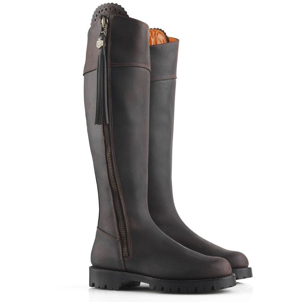 Fairfax & Favor Imperial Explorer water resistant boot mahogany - RedMillsStore.ie