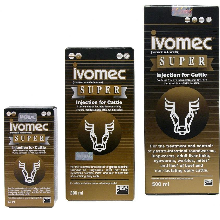 Ivomec Super Injection for Cattle - RedMillsStore.ie