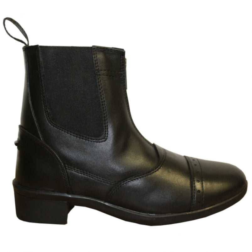 Mackey 'Holly' womens leather jodhpur boots
