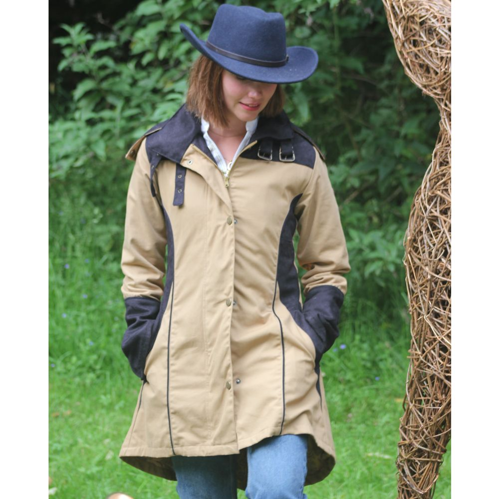 Welligogs 'Odette' Waterproof Womens Coat in Tan