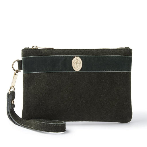 Hicks & Brown The Chelsworth Clutch Bag (Olive Green) - RedMillsStore.ie