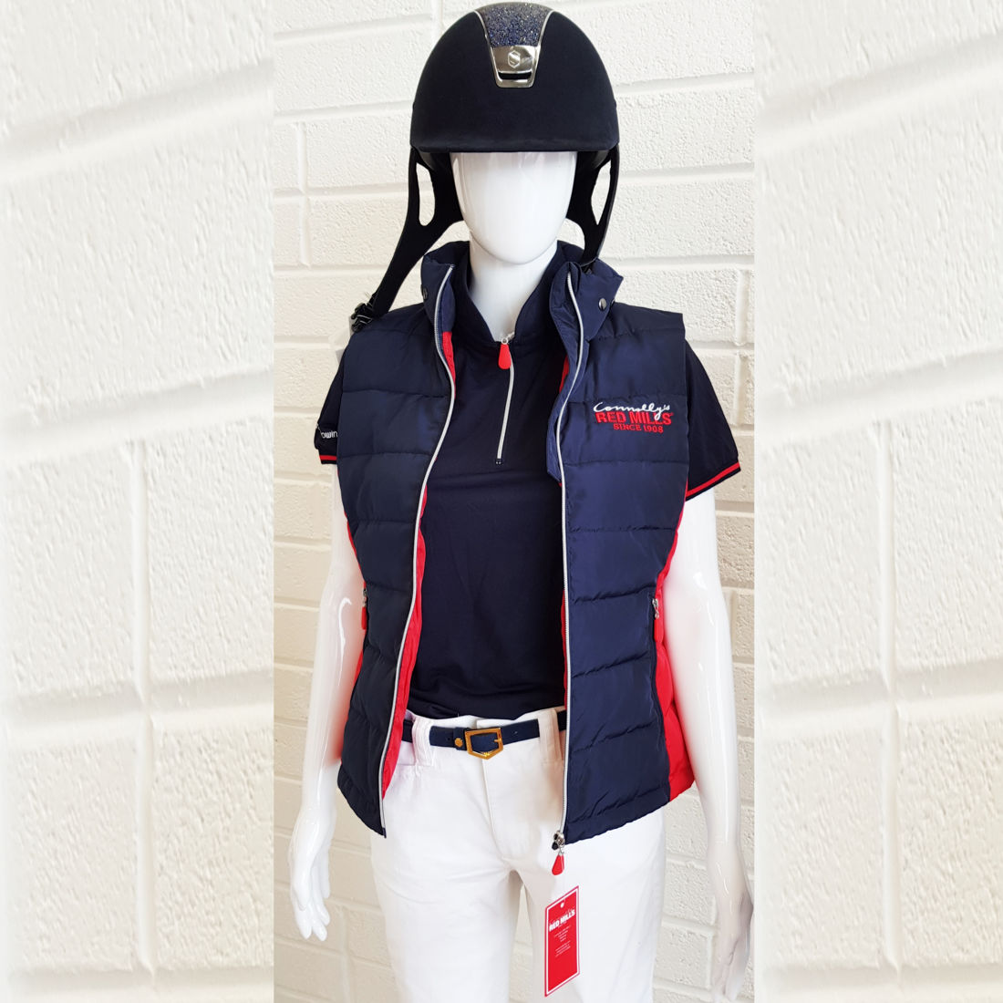 RED MILLS womens padded bodywarmer - RedMillsStore.ie