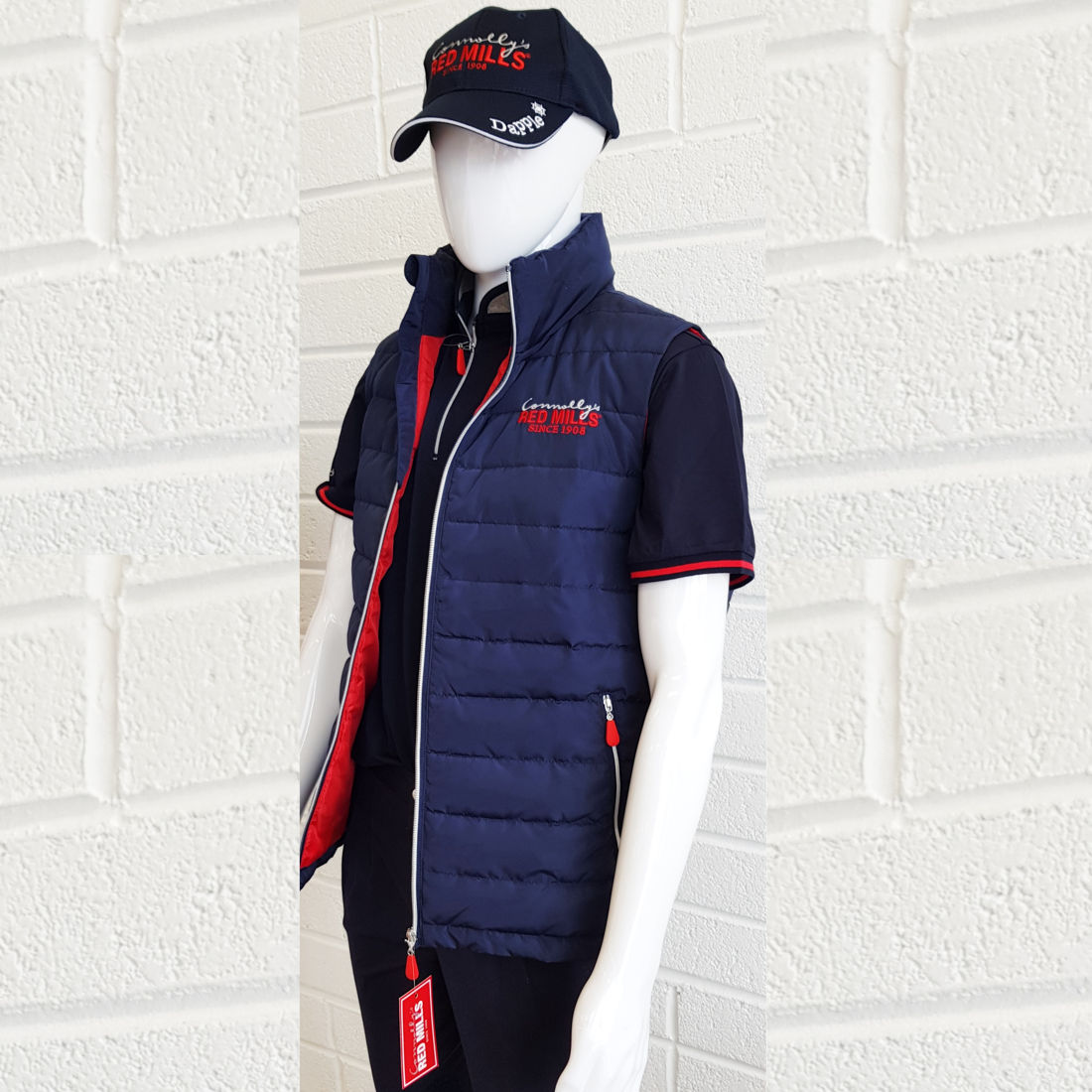 RED MILLS mens padded bodywarmer - RedMillsStore.ie