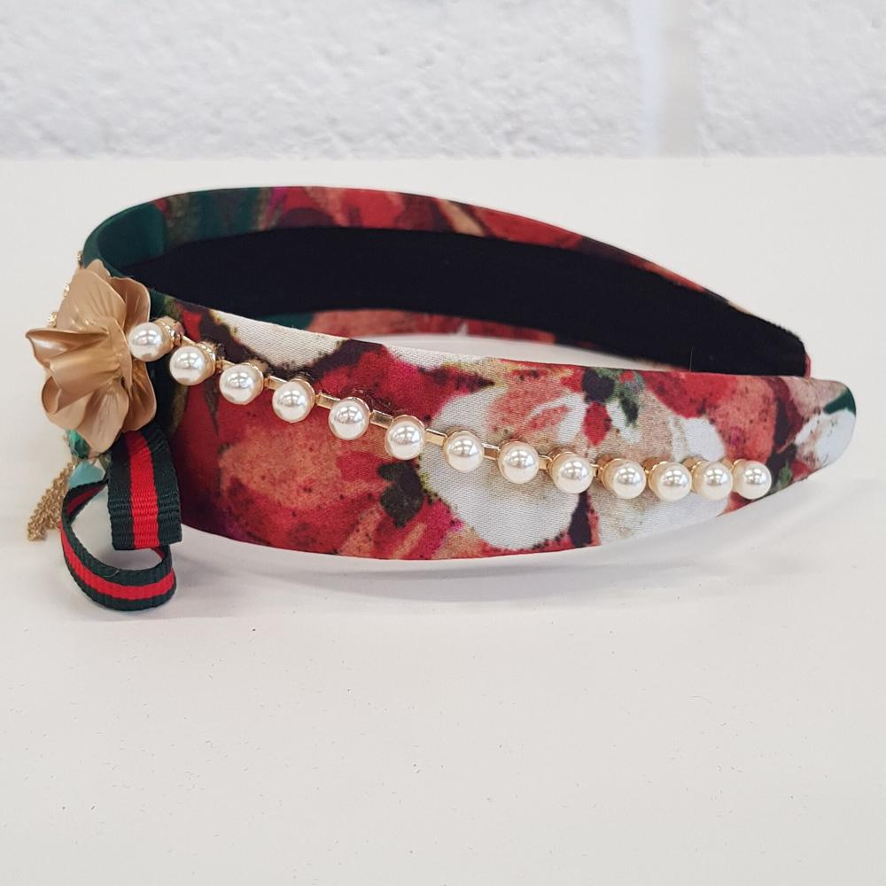 'Sarah' Green Glamorous decorative headband - RedMillsStore.ie