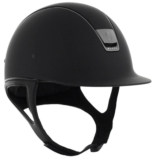 Samshield Shadowmatt helmet in black with 5 Swarovski crystals - RedMillsStore.ie