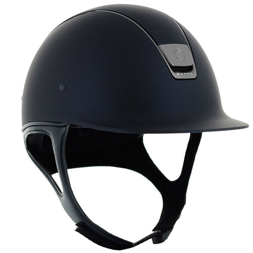 Samshield Shadowmatt helmet in blue with 5 Swarovski crystals - RedMillsStore.ie