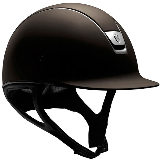 Samshield Shadowmatt standard helmet in brown - RedMillsStore.ie