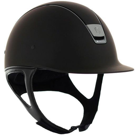 Samshield Shadowmatt helmet in brown with 5 Swarovski crystals - RedMillsStore.ie