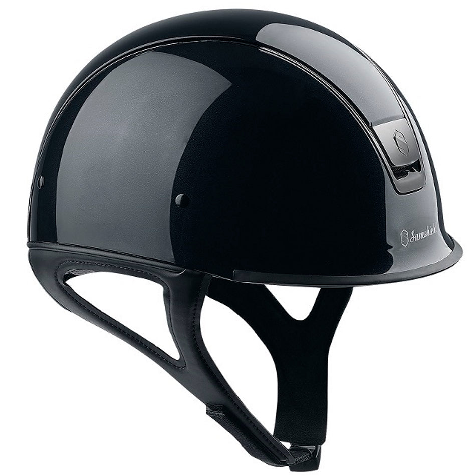 Samshield Shadow Race Helmet in glossy black