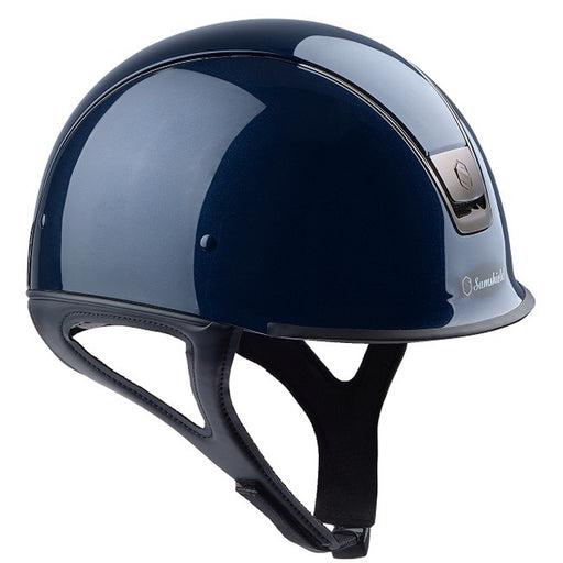Samshield Shadow Race Helmet in glossy blue - RedMillsStore.ie
