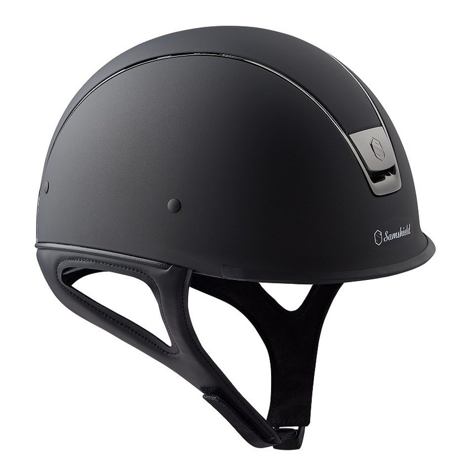 Samshield Shadow Race Helmet in matt black