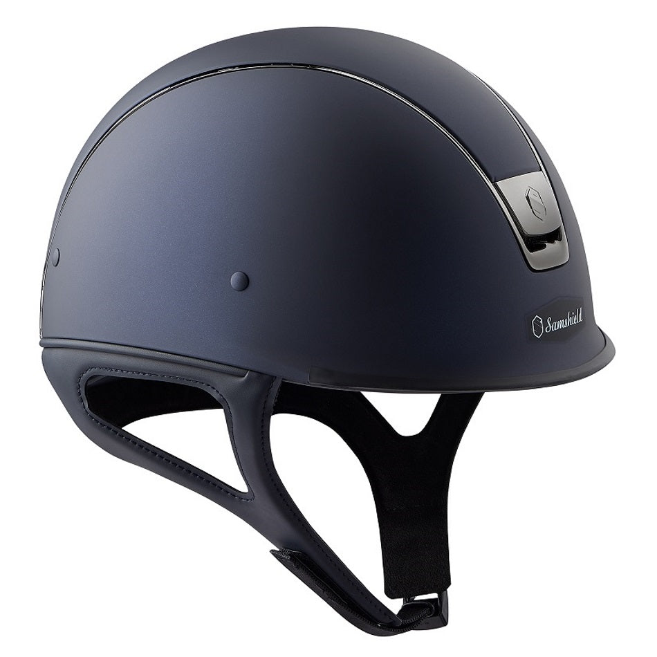 Samshield Shadow Race Helmet in matt blue