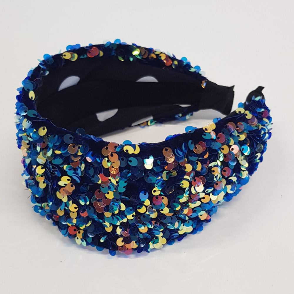 'Luna' sparkly headband skyline - RedMillsStore.ie