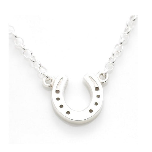 Hiho Silver Sterling Silver Horseshoe Necklace - RedMillsStore.ie