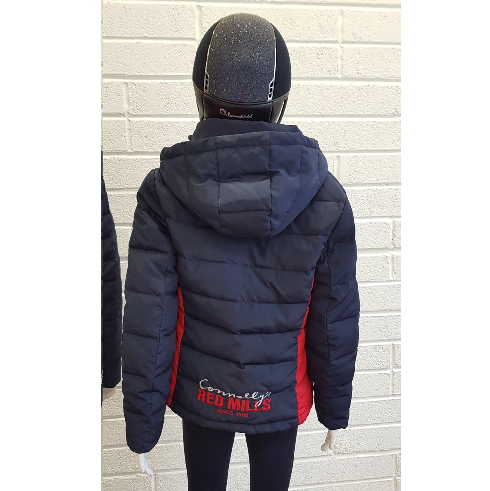 RED MILLS womens padded jacket with detachable hood