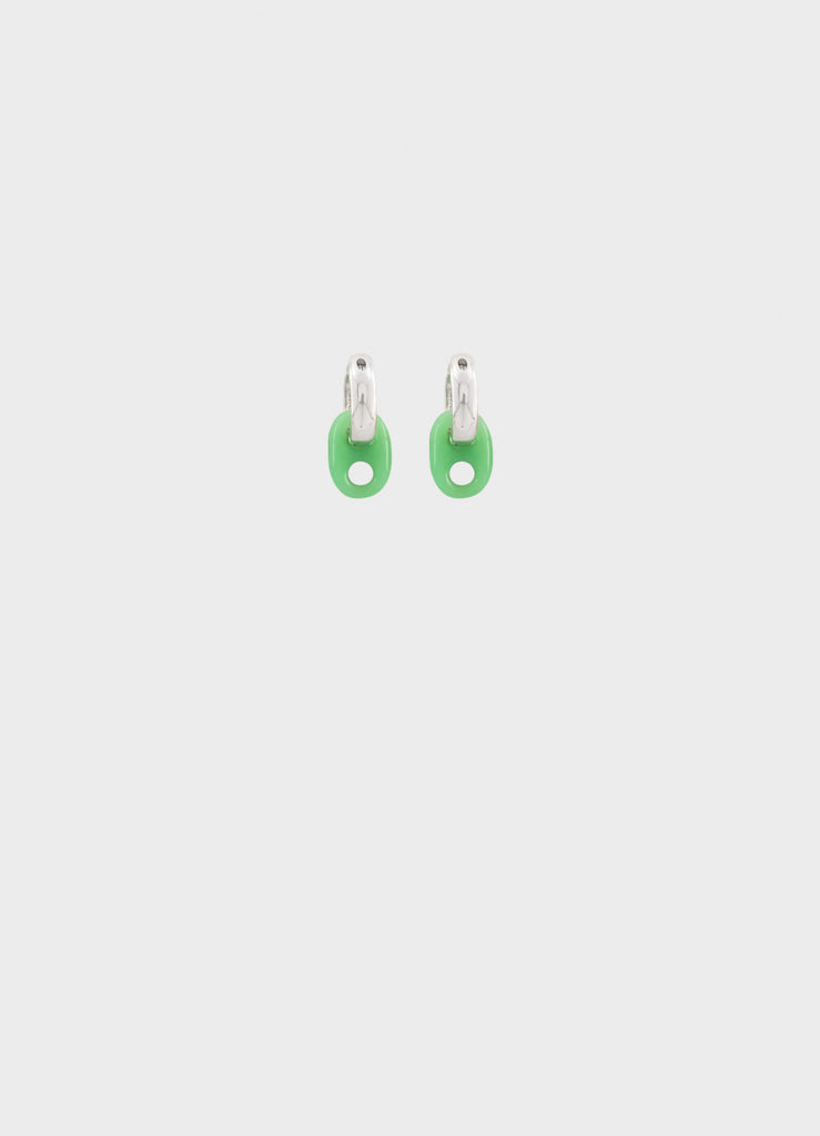 BABY BEAN EARRINGS JADE
