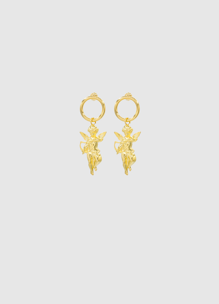CHERUB EARRINGS GOLD