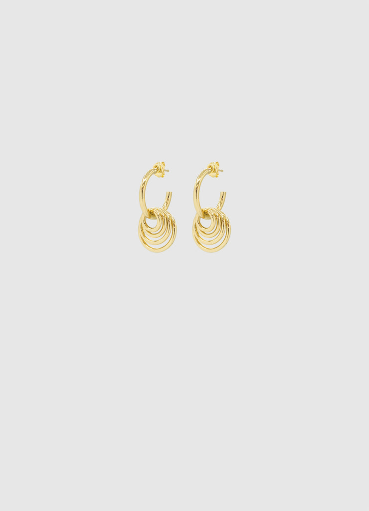 SONAR EARRINGS GOLD