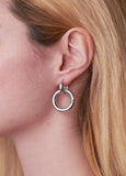 CLASSIC SNAP SILVER EARRINGS