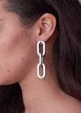 CLASSIC MATTE CHAIN EARRINGS