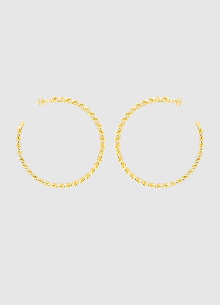 GRAND JANIS GOLD HOOPS