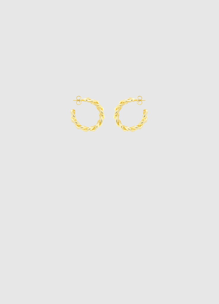 LIL' JANIS GOLD HOOPS