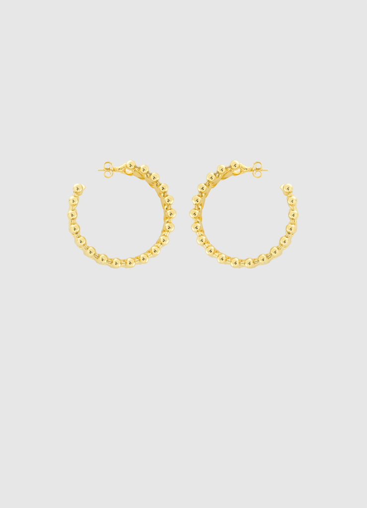 JANETTE GOLD HOOPS
