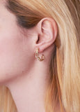 CLASSIC LIL' JUNE GOLD HOOPS