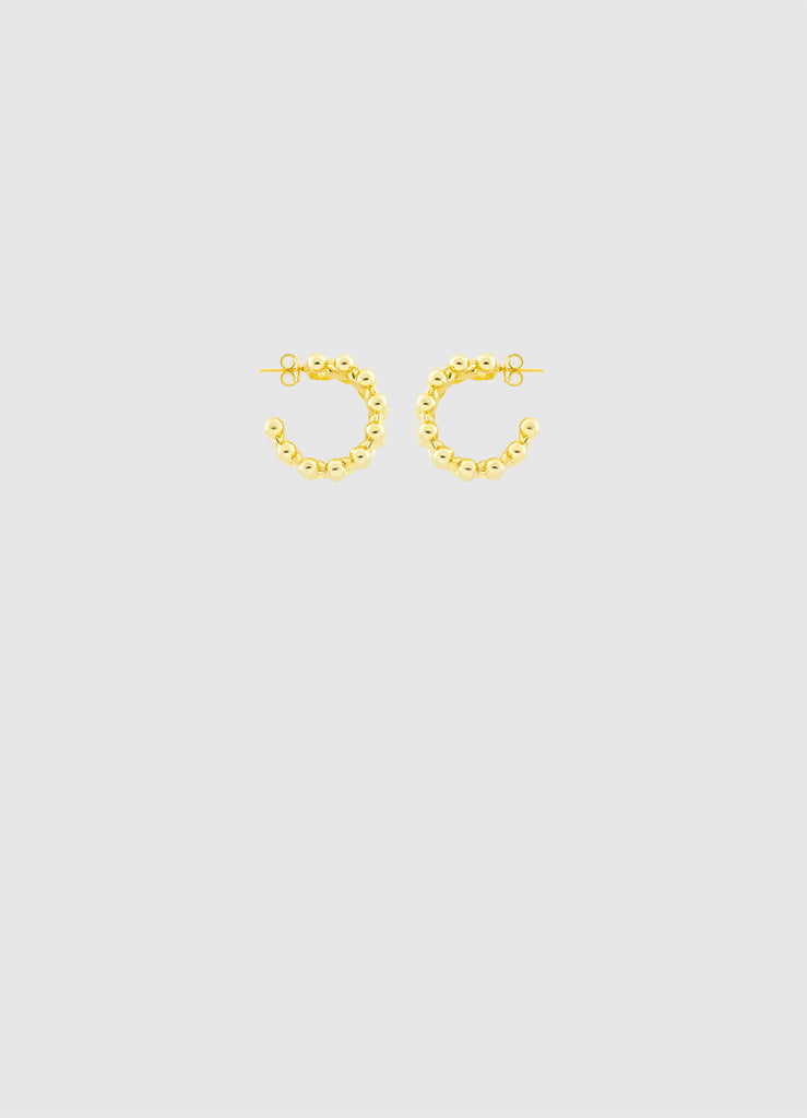 LIL' JANETTE GOLD HOOPS