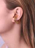 GOLD SPINE EAR CUFFS