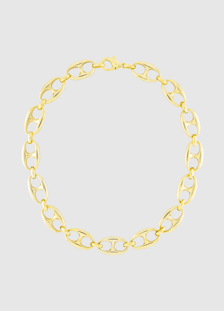 COLUMBUS GOLD NECKLACE
